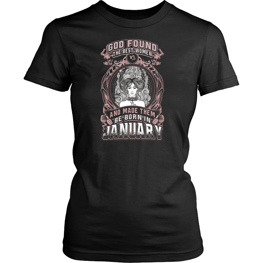 The Best Are Born In January T-Shirts Birthday Gift Shirt