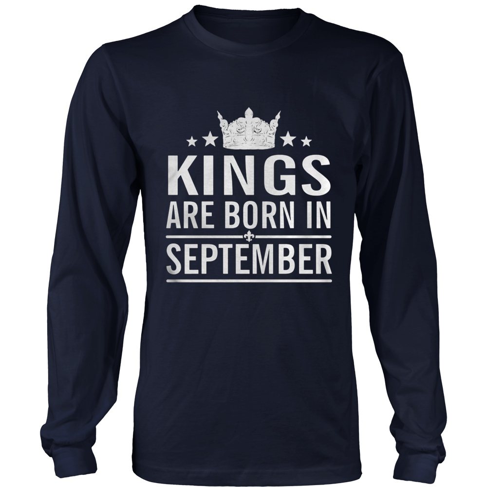 KINGS ARE BORN IN SEPTEMBER, BIRTH DAY GIFT