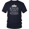 Kings Are Born In September Best Birthday Gifts for Men Boy
