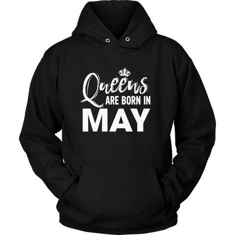 MAY QUEENS ARE BORN IN MAY TSHIRT