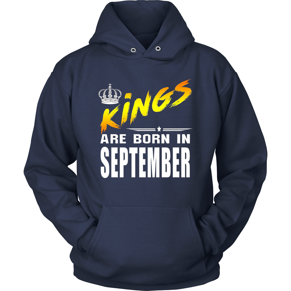 King are born in September Tshirt Birthday gift shirt