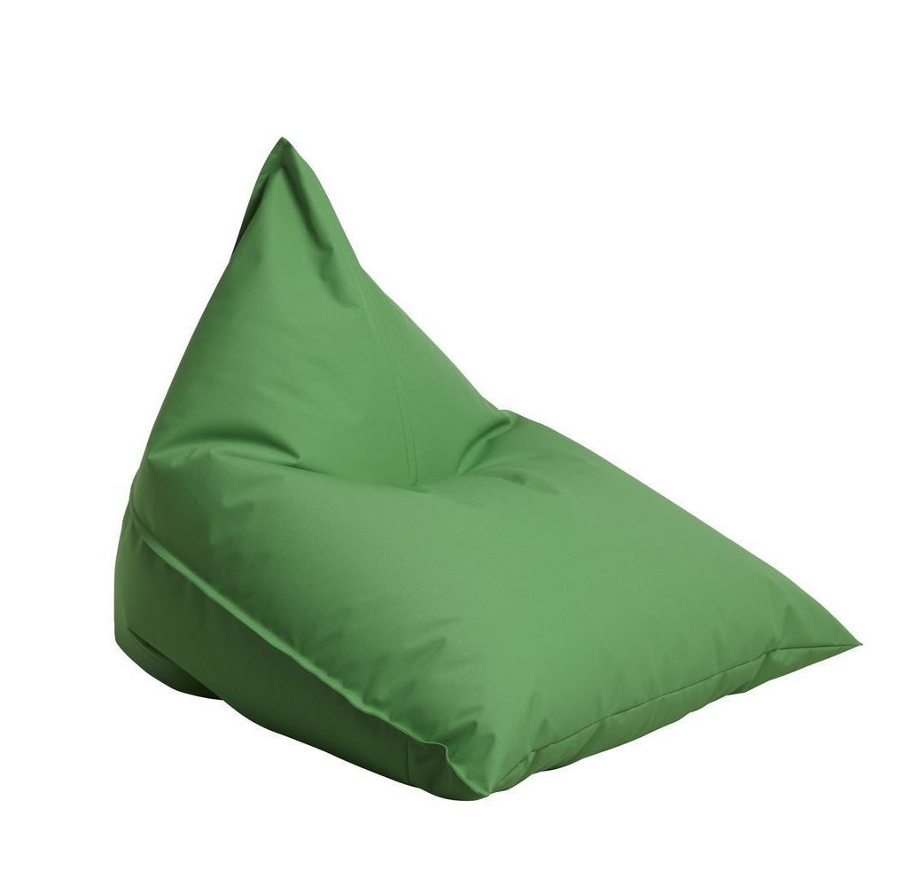 "Outdoor Sitting Bag ""Triangle"" - Green"