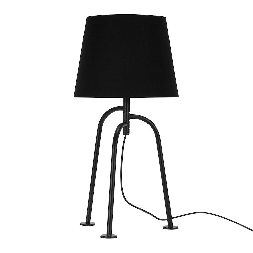 "Table Lamp ""Jay"" - Matte Black"