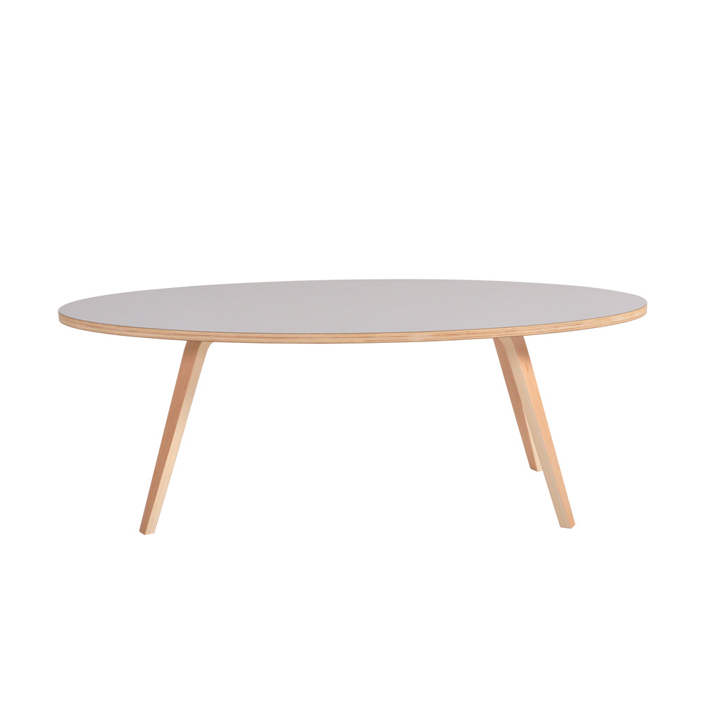 Arvika Ova Coffee Table - Grey