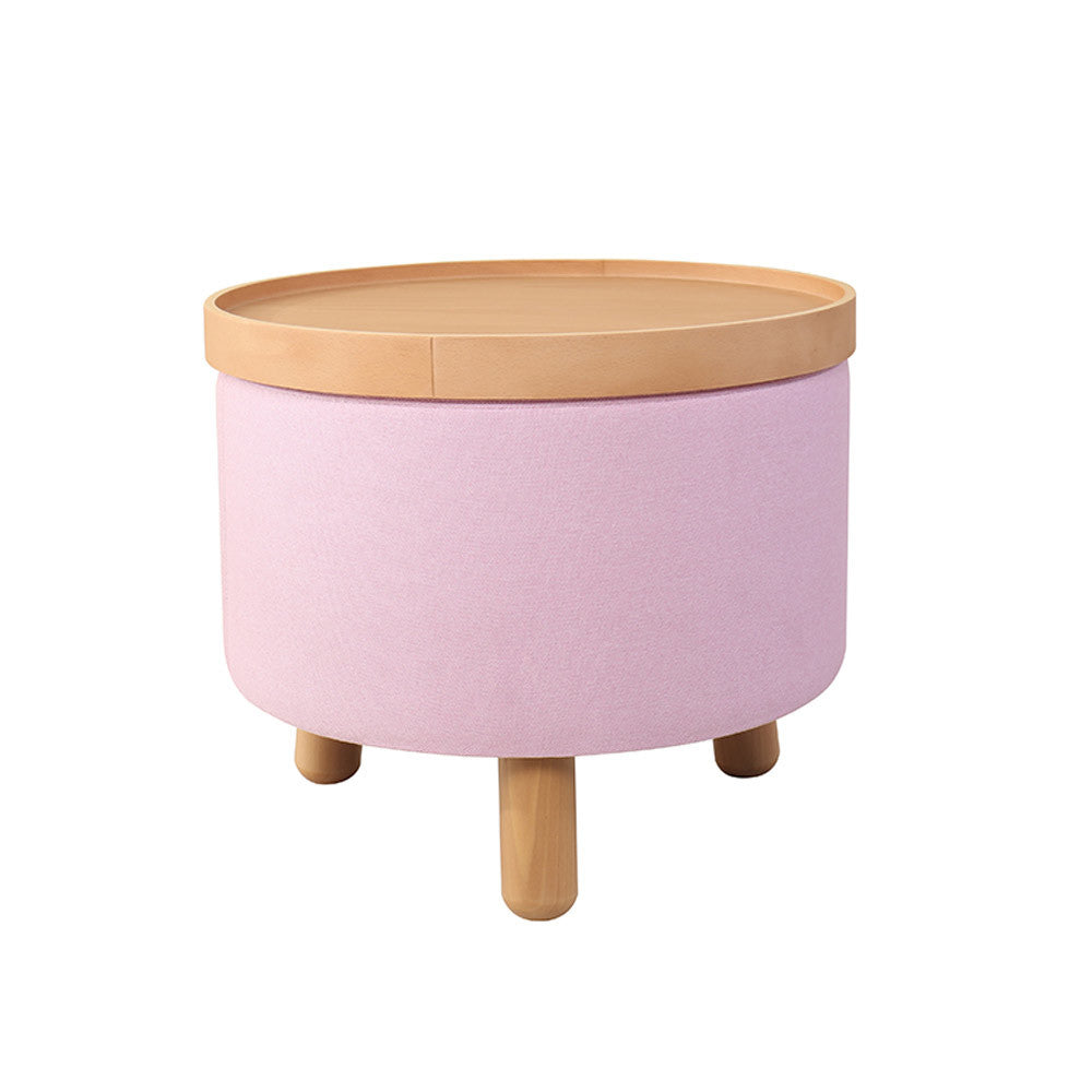 Stool Molde with Removable Tray Large - Rose