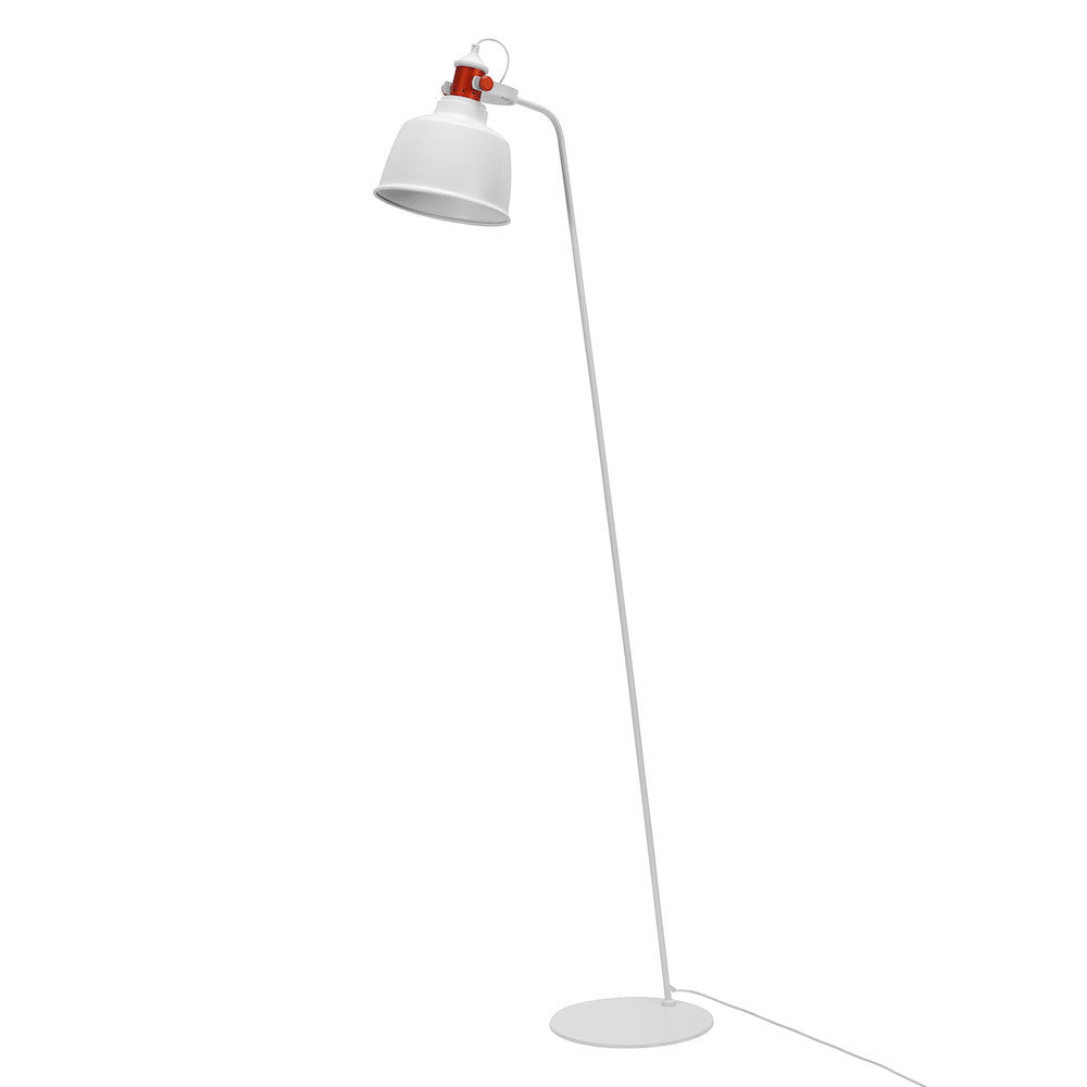 "Floor Lamp ""Etel"" - Matte White"