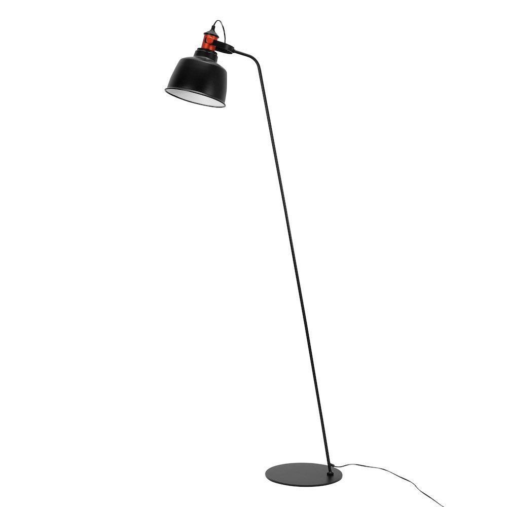 "Floor Lamp ""Etel"" - Matte Black"