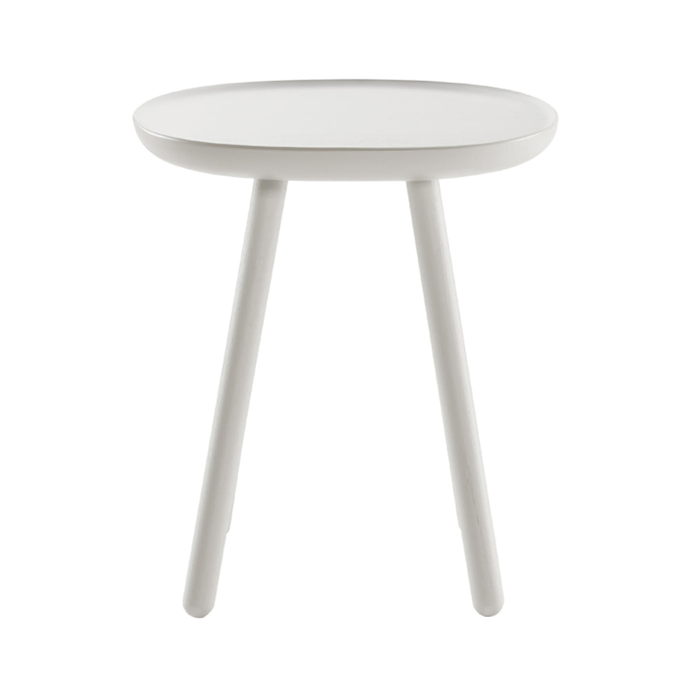 Naive side table - square D450 - white