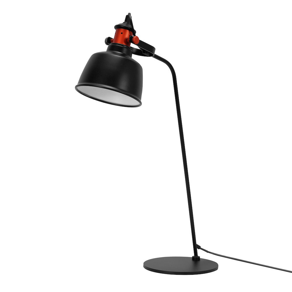 "Table Lamp ""Etel"" - Matte Black"