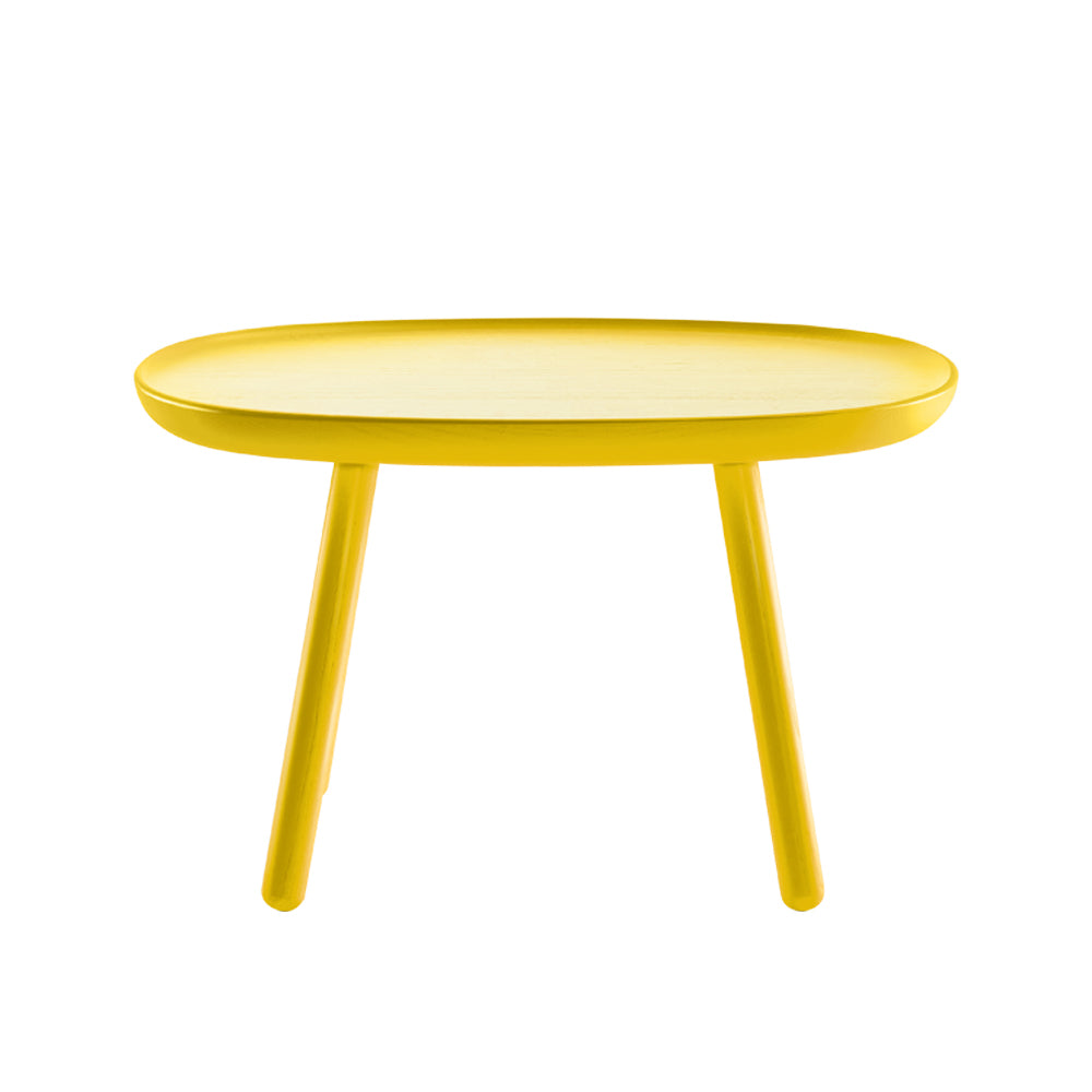Naive side table - rectangular L610 - yellow