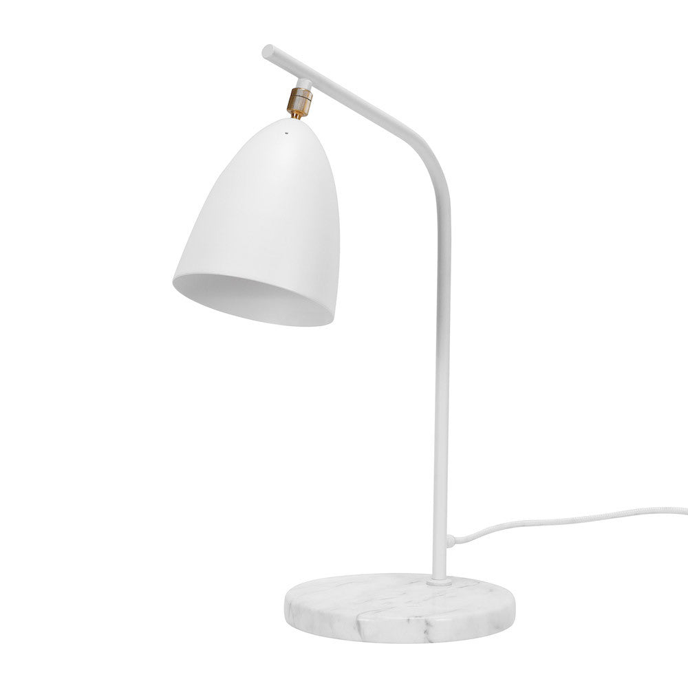 "Table Lamp ""Mel"" - Matte White"
