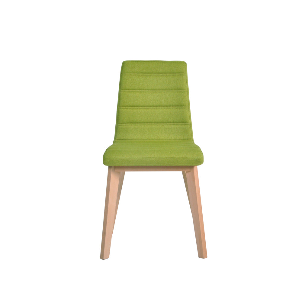 Nybro Fabric Chair - Green, Set of 2