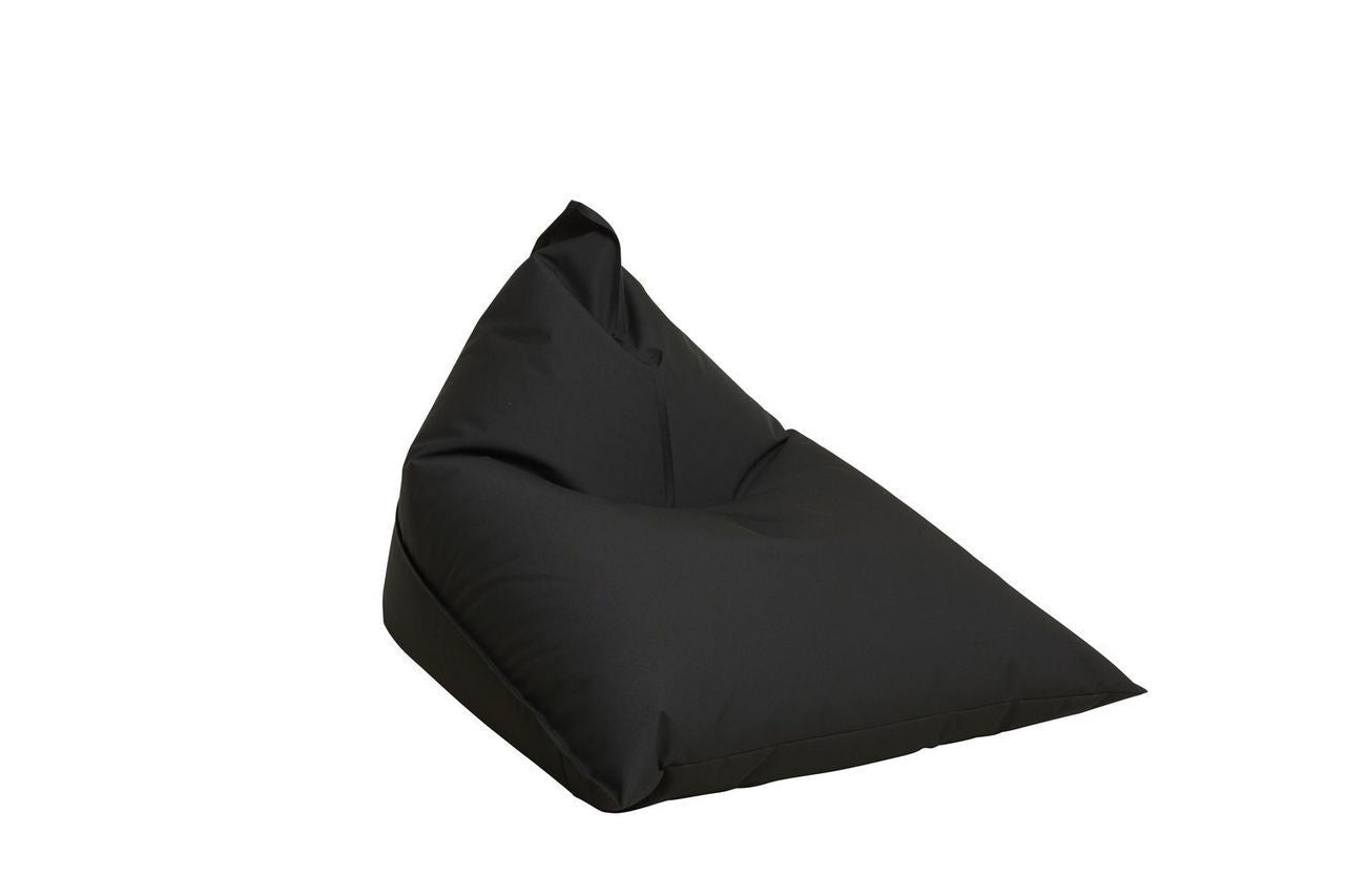 "Outdoor Sitting Bag ""Triangle"" - Black"
