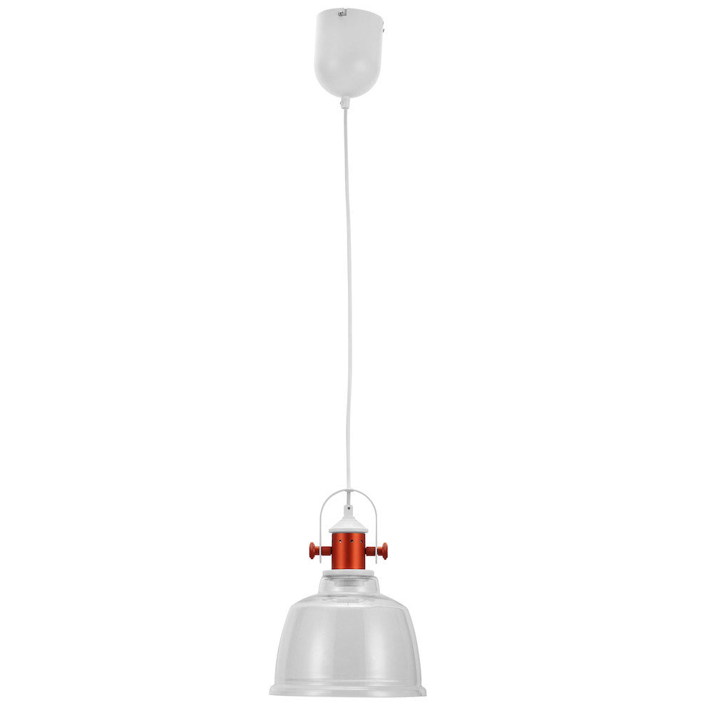 "Pendant Lamp ""Etel"" - Glass, Clear"