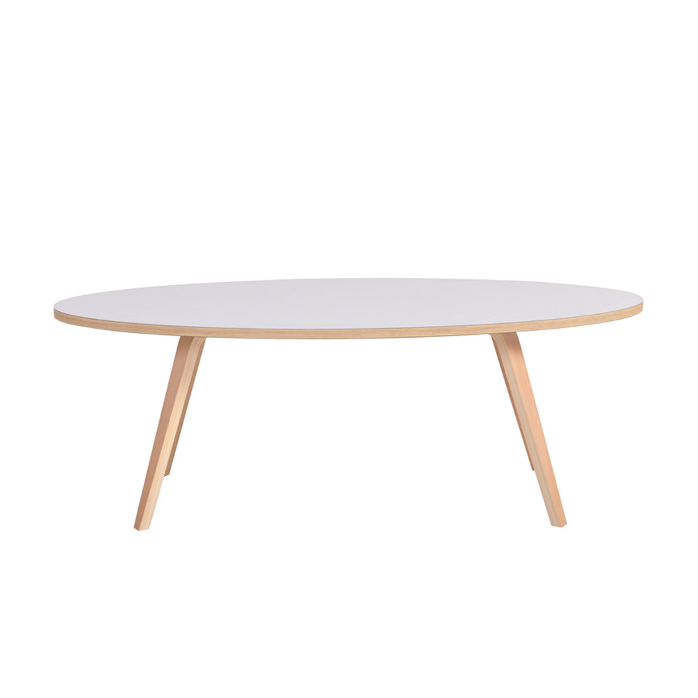Arvika Oval Coffee Table - White