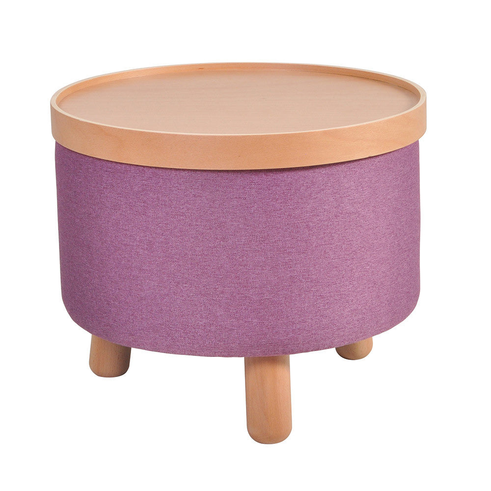 Stool Molde with Removable Tray Large - Purple