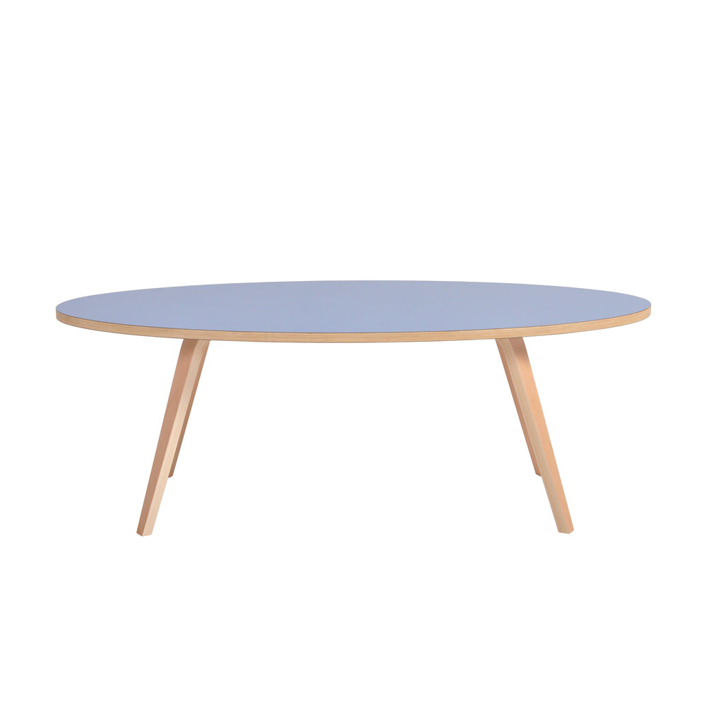 Arvika Oval Coffee Table - Blue