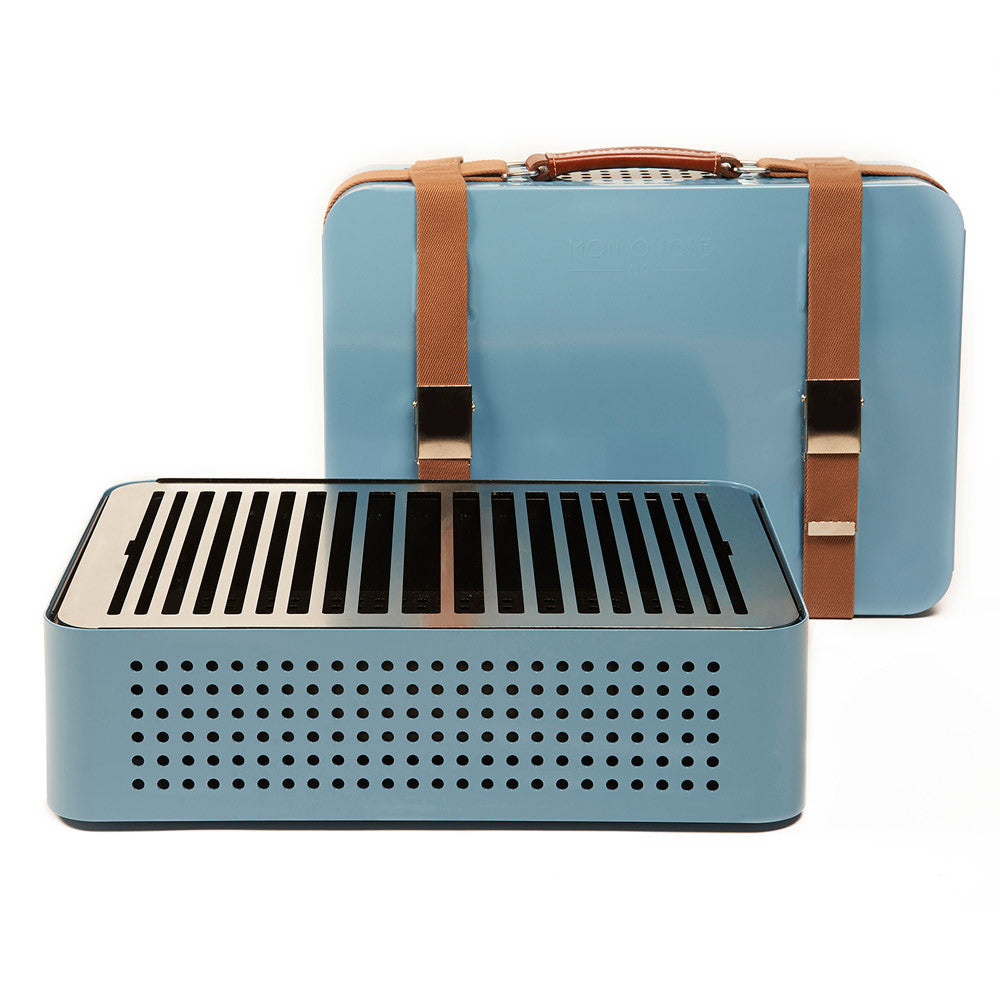 Mon Oncle Portable Barbecue - Blue