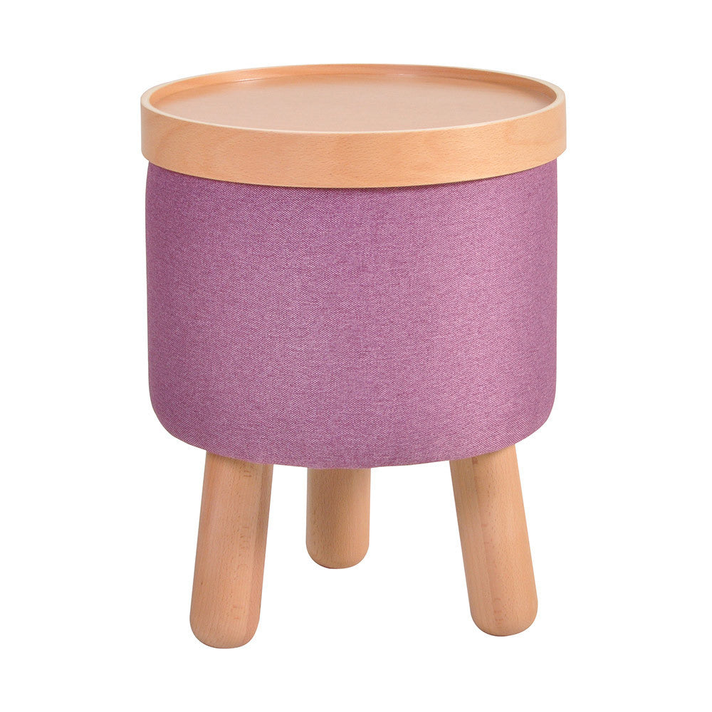 Stool Molde with Removable Tray Small - Purple