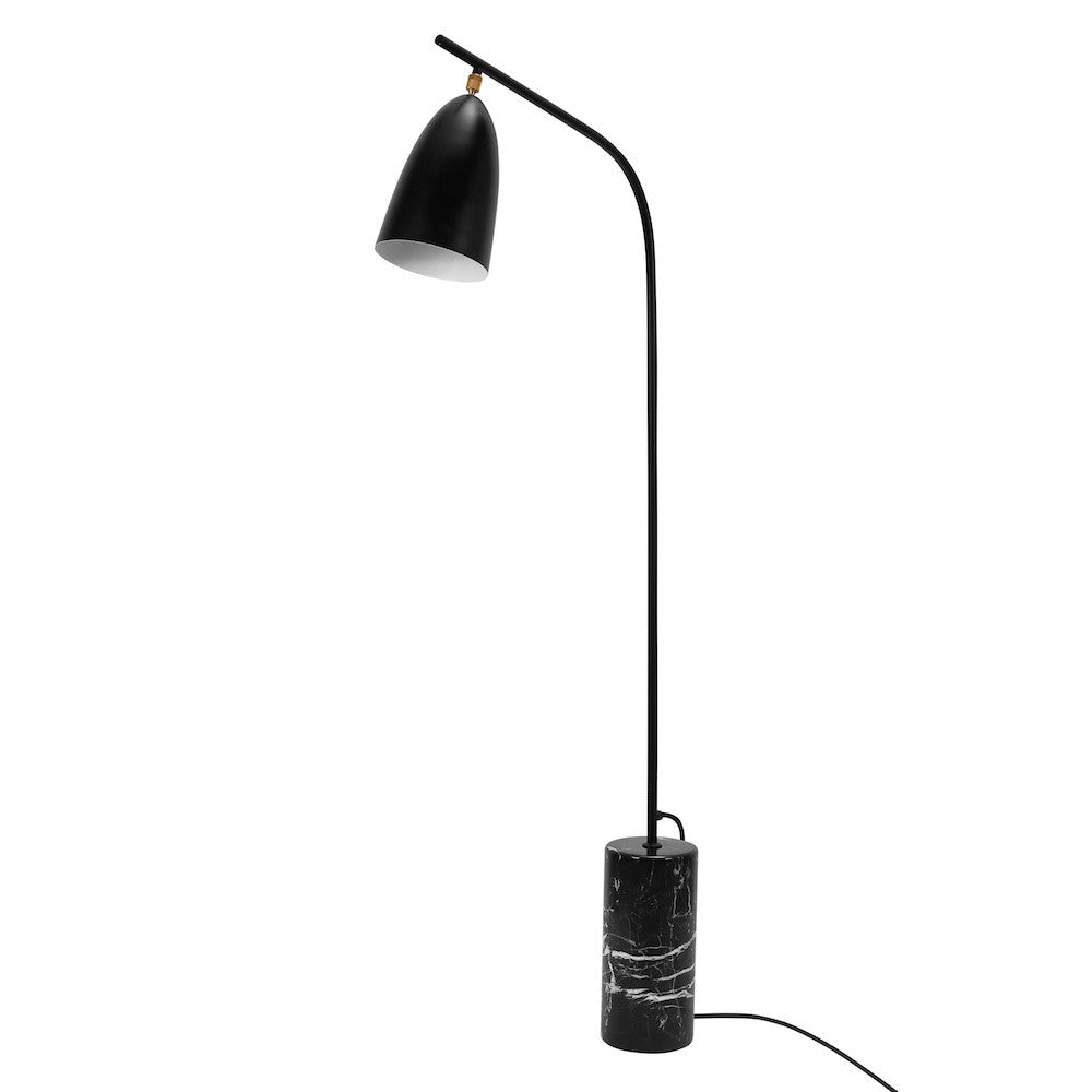 "Floor Lamp ""Mel"" - Matte Black"