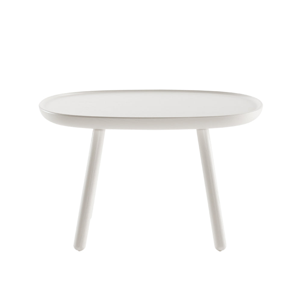 Naive side table - rectangular L610 - white