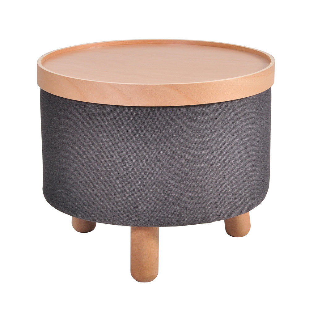 Stool Molde with Removable Tray Large - Dark Grey