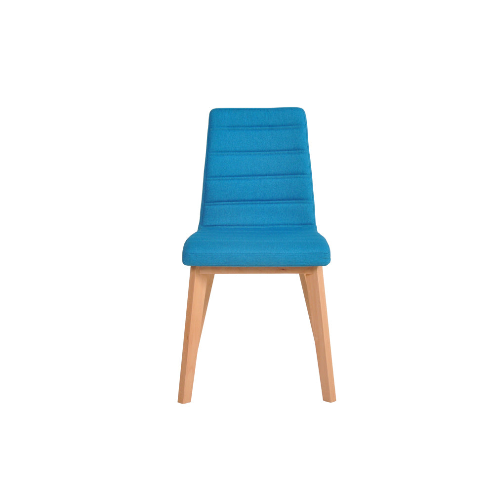 Nybro Fabric Chair - Turquoise, Set of 2