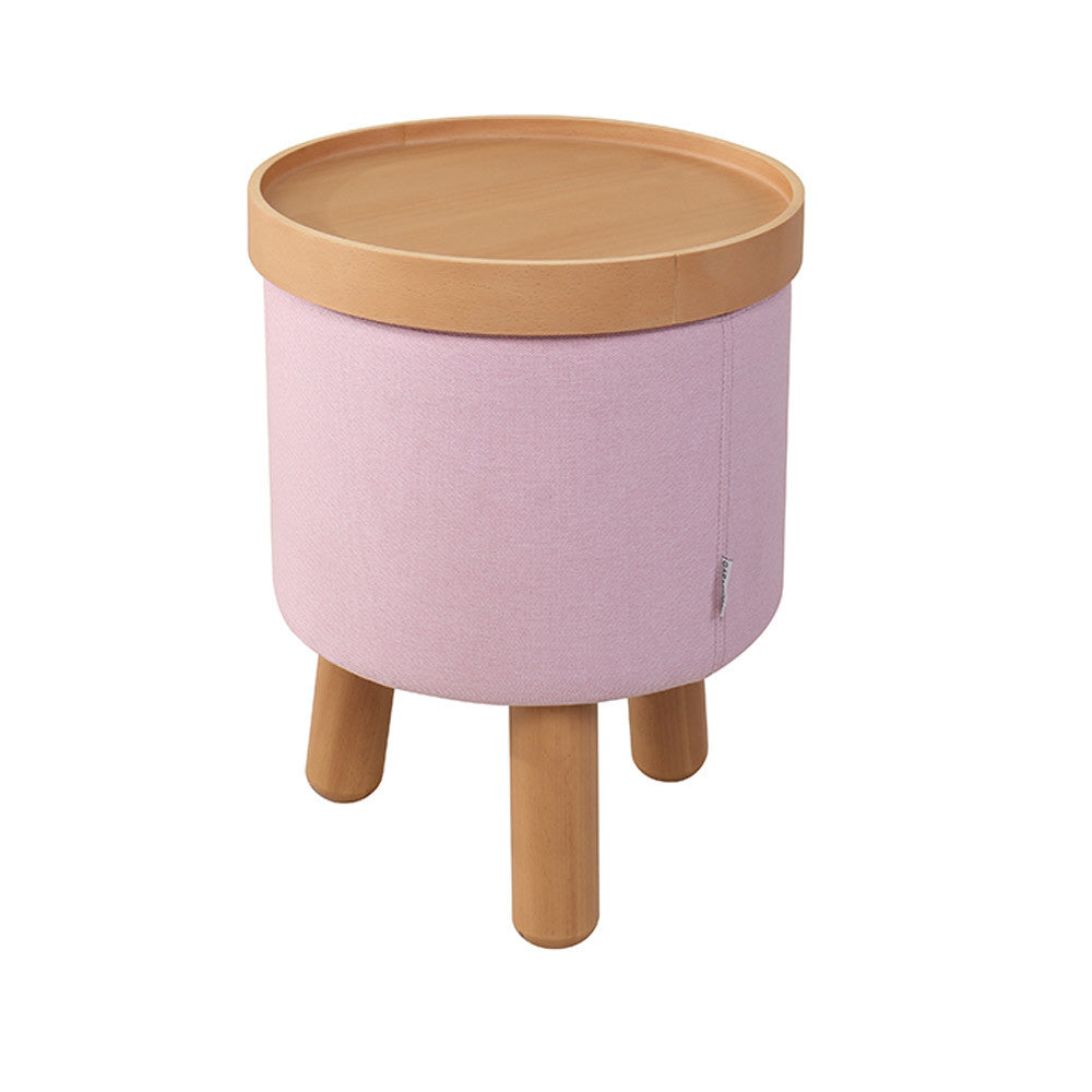 Stool Molde with Removable Tray Small - Rose