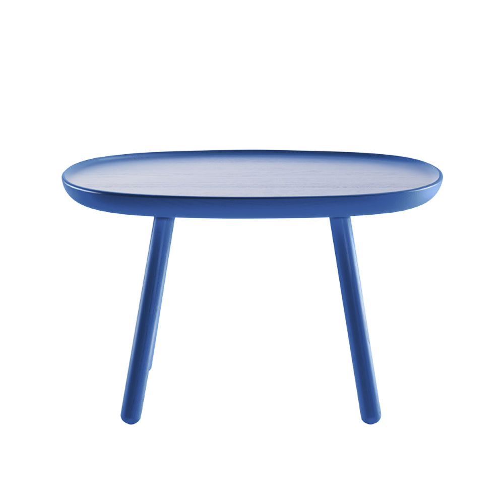 Naive side table - rectangular L610 - blue
