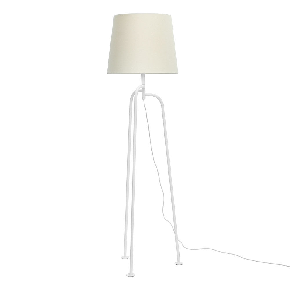 "Floor Lamp ""Jay"" - Matte White"