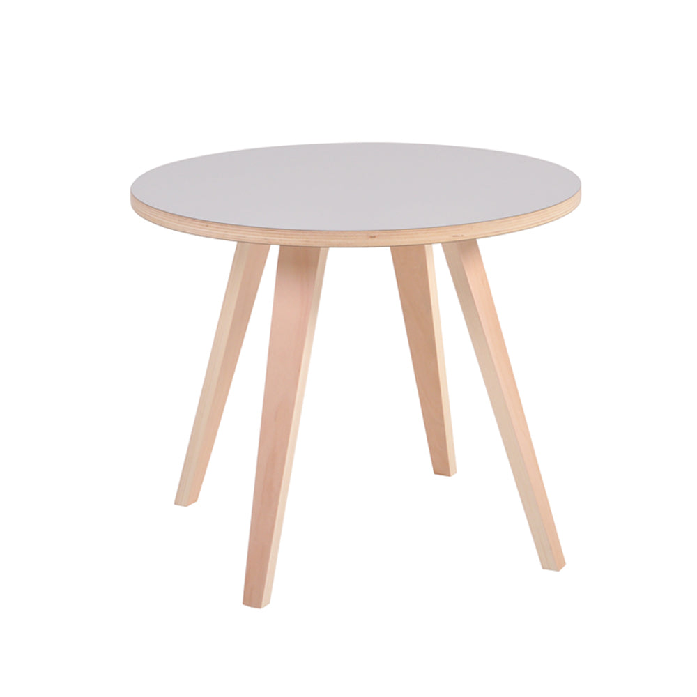 Arvika Round Side Table - Grey
