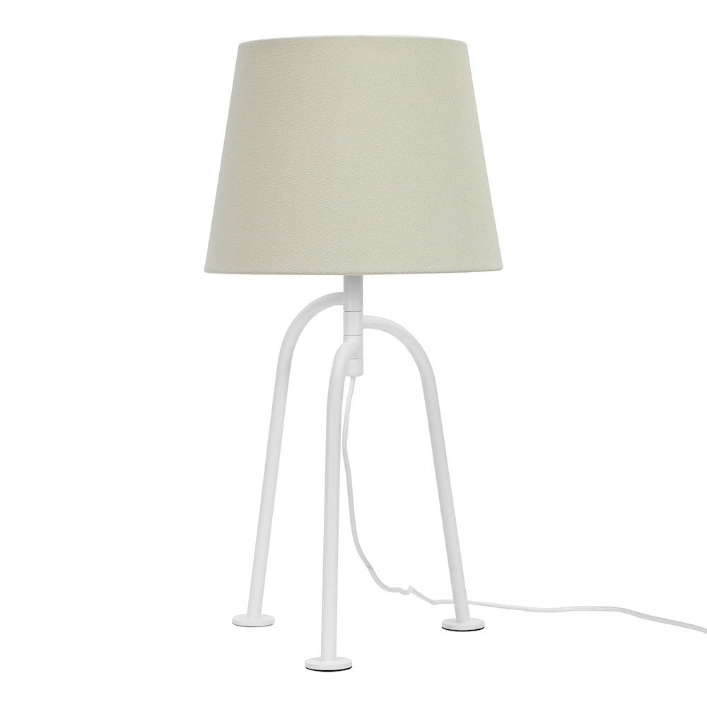 "Table Lamp ""Jay"" - Matte White"