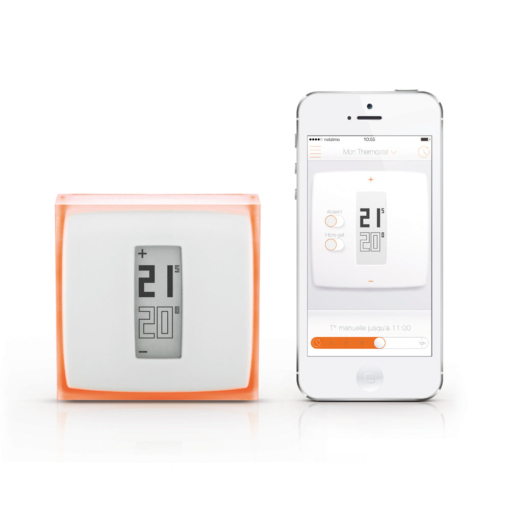Netatmo Thermostat with Smartphone Application