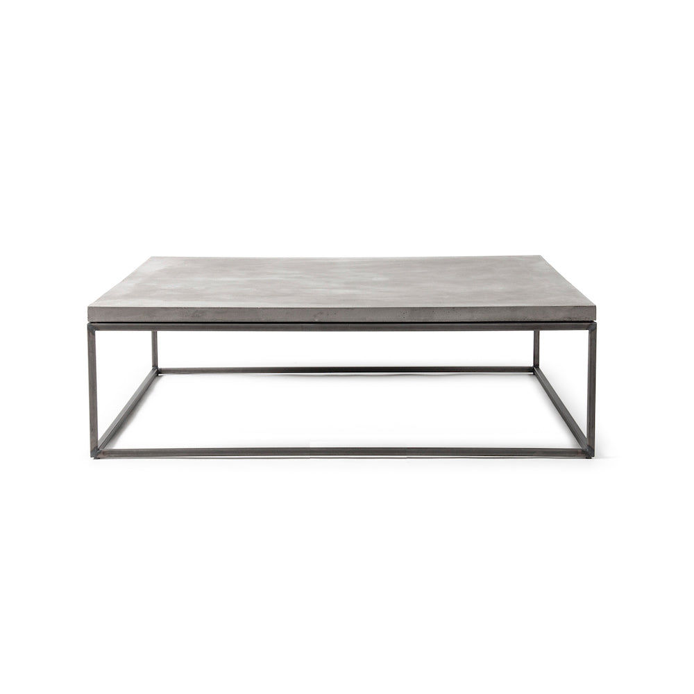 Lyon-Beton Perspective Concrete Coffee Table, XL