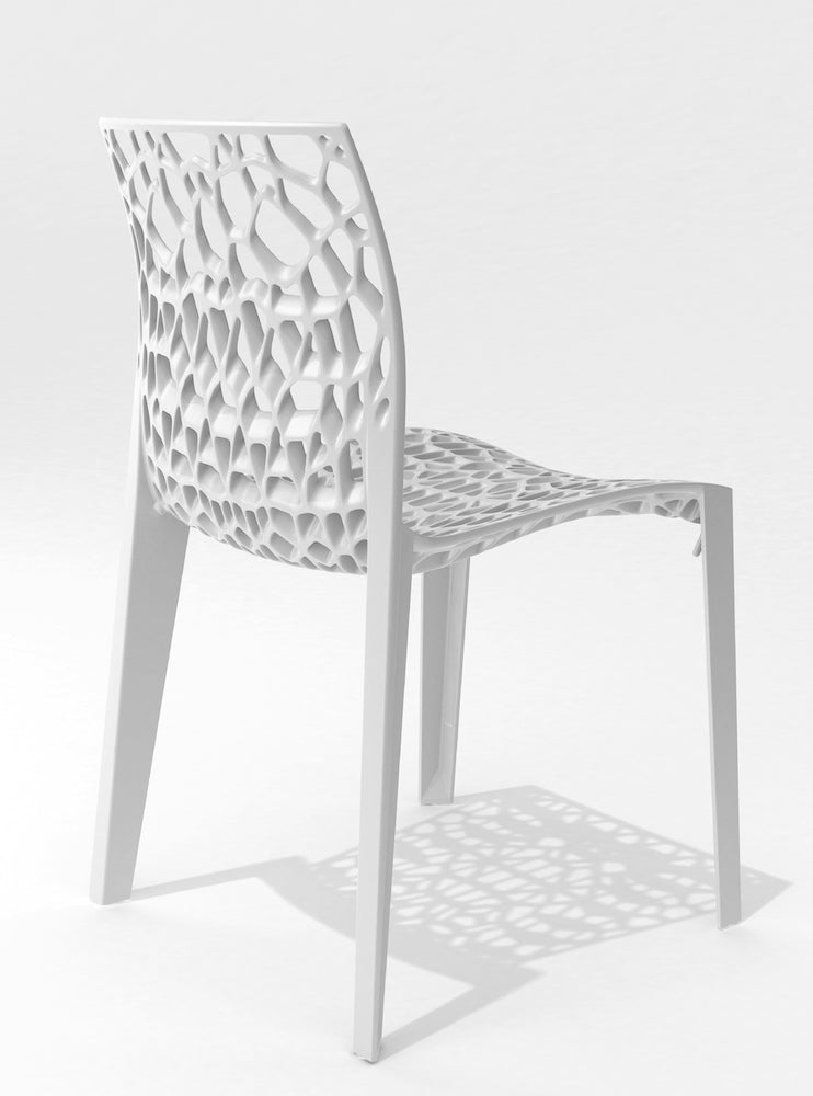 CORAL CHAIR - WHITE