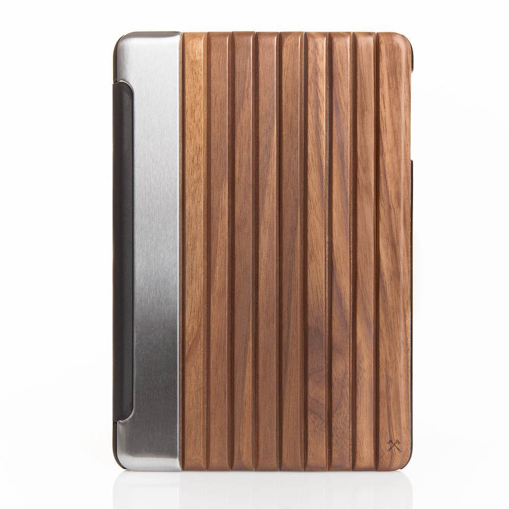 "Flip Cover for iPad Pro 9.7"" - Wood/Metal"