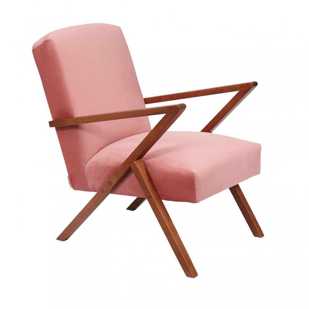 Retrostar Chair Velvet - Pink