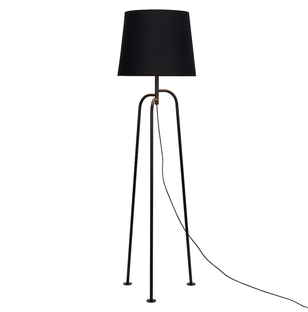 "Floor Lamp ""Jay"" - Matte Black"