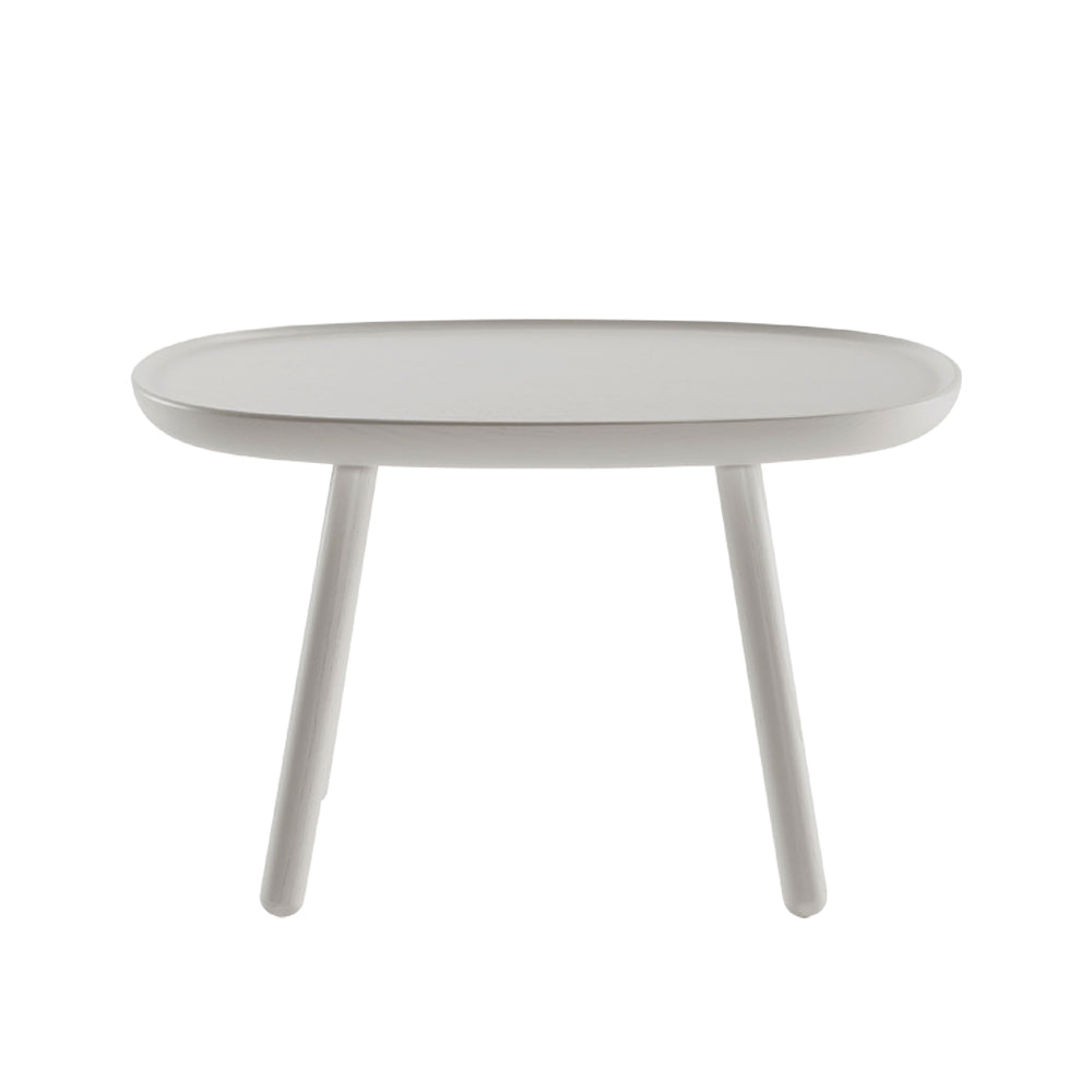 Naive side table - rectangular L610 - grey