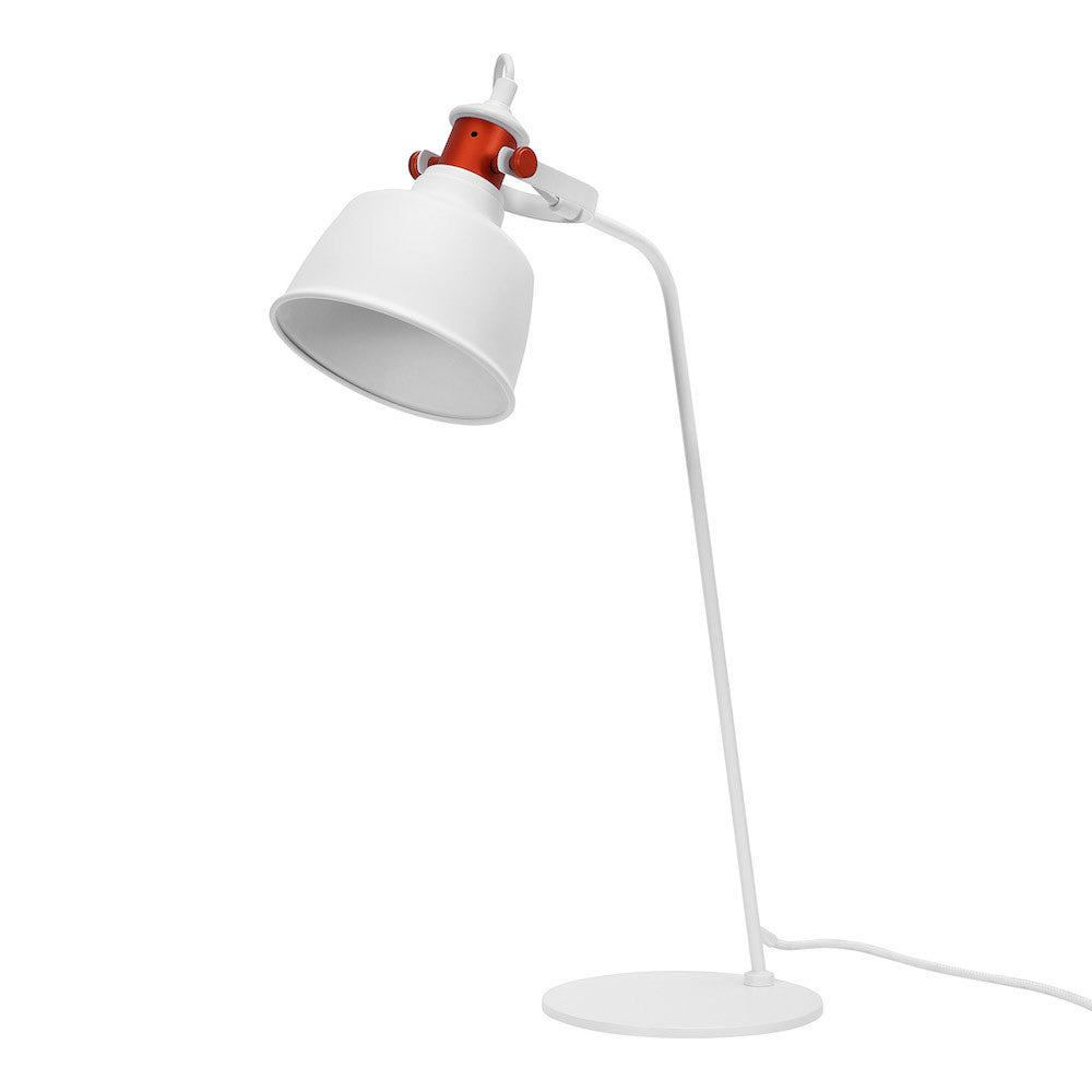 "Table Lamp ""Etel"" - Matte White"
