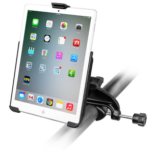 RAM Yoke Clamp Mount with EZ-ROLL'R™Model Specific Cradle for the Apple iPad mini 2 WITHOUT CASE, SKIN OR SLEEVE - Gizmobusters