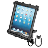 RAM Handlebar or Rail Mount with Tab-Tite™Universal Clamping Cradle for Large Tablets WITH HEAVY DUTY CASES - Gizmobusters