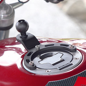 "RAM® Small Gas Tank Base with 1"" Ball for Motorcycles - Gizmobusters"