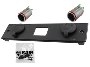 X15 RAM DOUBLE FEMALE CIG POWER BLOCK - Gizmobusters