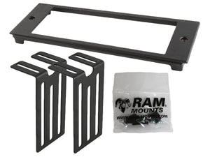 "RAM Tough-Box™Console Custom 3"" Faceplate. Accommodates Dimensions: 7"" x 2"" - Gizmobusters"