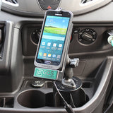 RAM Universal Vehicle Phone Dock with GDS Technology™for RAM IntelliSkin™Products - Gizmobusters