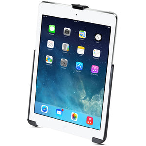 RAM EZ-Roll'R™Model Specific Cradle for the Apple iPad 5th generation, iPad Air 1-2 & iPad Pro 9.7 WITHOUT CASE, SKIN OR SLEEVE - Gizmobusters