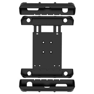 "RAM Tab-Tite™Cradle for 10"" Screen Tablets including the Apple iPad 1-4 with LifeProof nüüd Cases & Lifedge Cases - Gizmobusters"