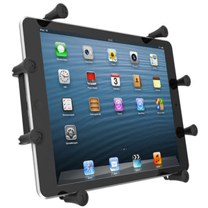 "RAM® X-Grip® Cradle for 10"" Large Tablets - Gizmobusters"