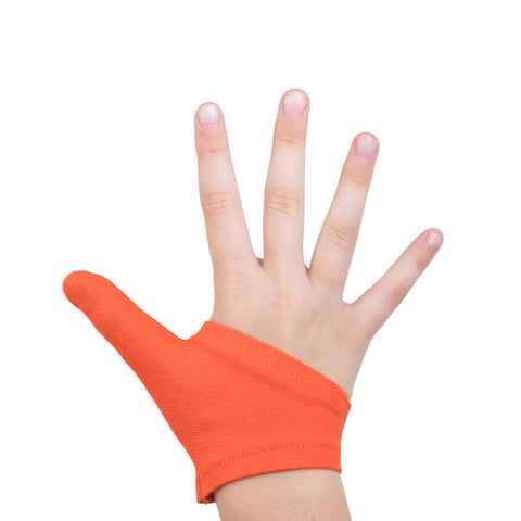 Thumb Glove | Thumb Guard | Funky Orange
